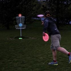 Летающий светящийся диск Flashflight® LED Disc Golf