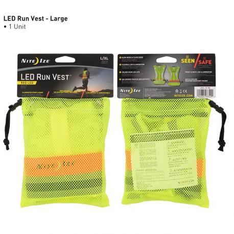 Светящийся жилет LED Run Vest