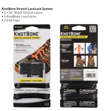 Комплект для шнуровки KnotBone Stretch LaceLock System