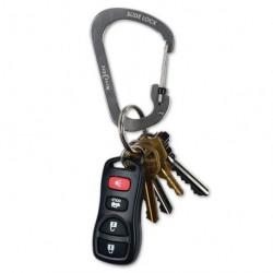Карабин с блокировкой  для крепления ключей и других предметовSlideLock Carabiner