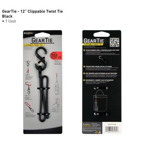 "Карабин Gear Tie Clippable Twist Tie 12"""