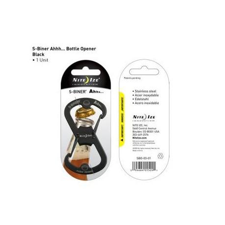 Брелок-карабин-открывалка S-Biner Ahhh