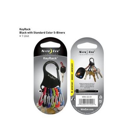 Брелок-карабин для ключей S-Biner KeyRack
