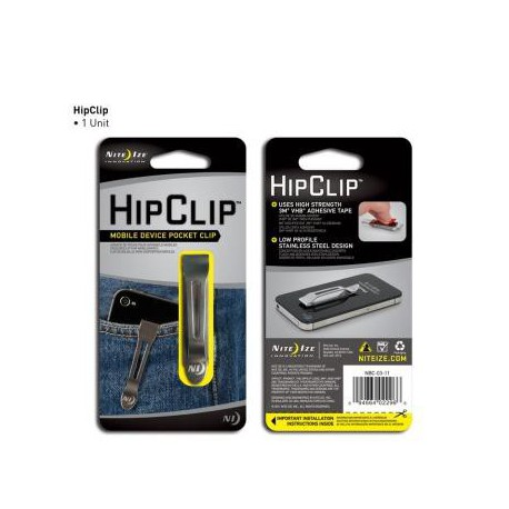 Клипса для крепления мобильного телефона к карману HipClip