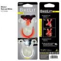 Велосипедный фонарик BikeLit LED Bike Light, 2 шт. (белый+красный)
