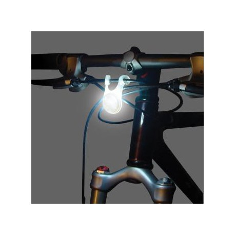 Велосипедный светодиодный фонарик BikeLit LED Bike Light, 2 шт. (белый+красный)