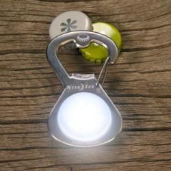 Брелок-карабин с подсветкой и открывалкой S-Biner GetLit LED Bottle Opener