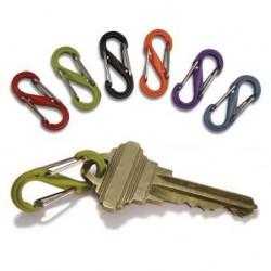 Карабин пластиковый для ключей и других предметов S-Biner - Plastic без упаковки