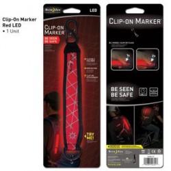 Светящийся маркер с карабином LED Clip-On Marker