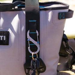 Карабин для ключей и других предметов S-Biner Marine SlideLock имеет высокую степень устойчивости к коррозии
