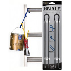 """Многоразовые хомуты (гибкие стяжки) для размещения и организации проводов и предметов Gear Tie® Twist Tie 24"""""""
