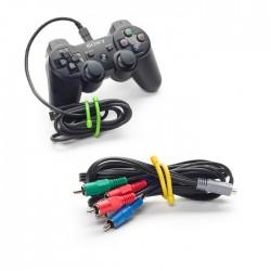 Набор многоразовые хомутов (гибкие стяжки) для размещения и организации проводов и предметов Gear Tie Bag