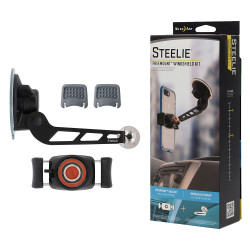 Магнитный держатель Nitelze Steelie FreeMount Windshield Kit