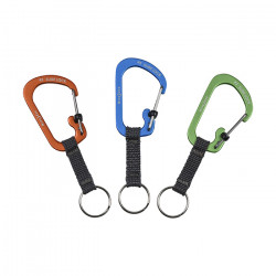Брелок SlideLock Key Ring Aluminum
