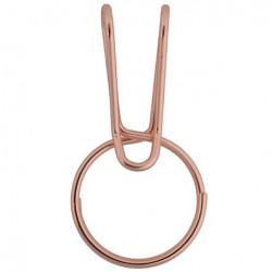 Брелок кольцо для ключей  SqueezeRing