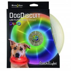 Летающий светодиодный диск для собак Flashflight Dog Discuit