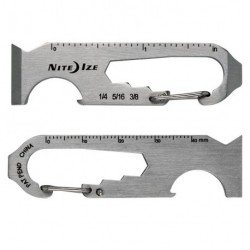 Мультиинструмент-брелок с карабином  DoohicKey 6x Key Tool
