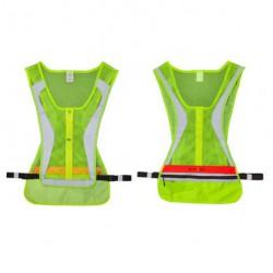 Светящийся жилет со светодиодными элементами LED Run Vest